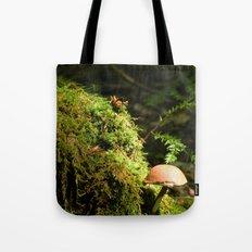 Mushroom chimney Tote Bag