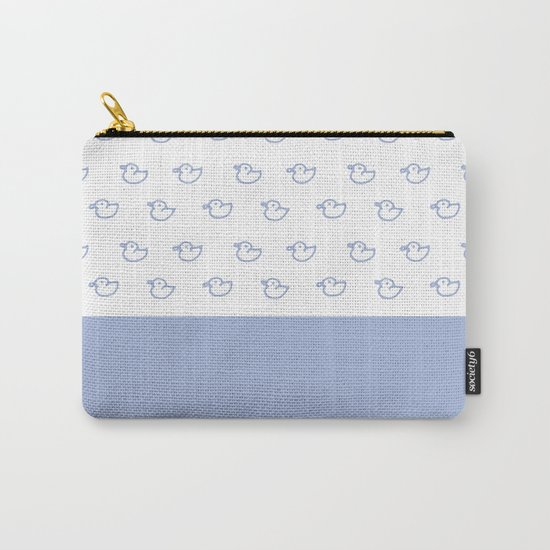 Ducklings light blue Carry-All Pouch