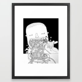 Eat Millo Framed Art Print