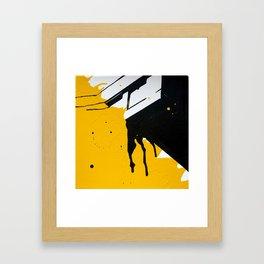 Innercity Housing Framed Art Print