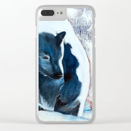 Bears - Don't be afraid, I'll show you the way... by LiliFlore Clear iPhone Case
