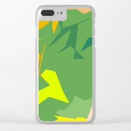 Always Greener Clear iPhone Case