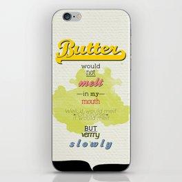 Butter iPhone Skin