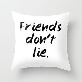 friends Throw Pillow