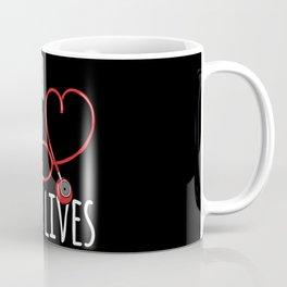 Tough girls save lives - Cute Nurse Gift Idea Coffee Mug