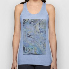 Mermaid Marble Unisex Tank Top
