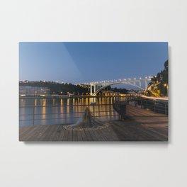 Arrabida bridge (IV) Metal Print