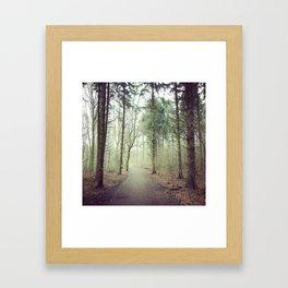 The road ahead Framed Art Print