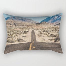 High Desert Highway Rectangular Pillow