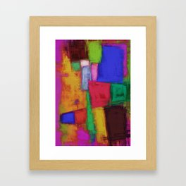 Recycled surface Framed Art Print