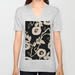 trailing vine Unisex V-Neck