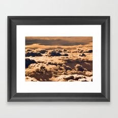 What lies below Framed Art Print