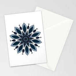 Blue knapweed flower Stationery Cards