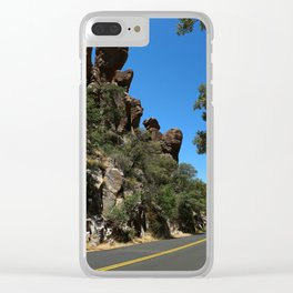 Scenic Bonita Canyon Road Clear iPhone Case