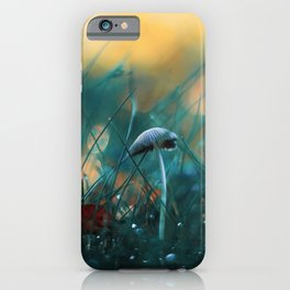 Fire in the Water iPhone Case