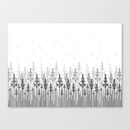 White field Canvas Print
