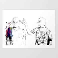 Guns For Hands Art Print