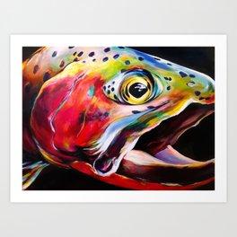 Cutthroat Approach Art Print