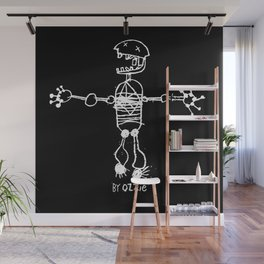 Skeleton by Ozzie (Age 5) Wall Mural