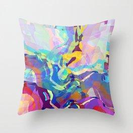 Volcanic Throw Pillow