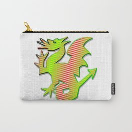 Stylized Dragon Carry-All Pouch