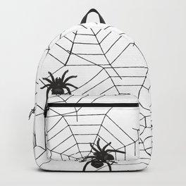 Black Spider Halloween web Backpack