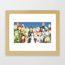 Sword Art Online - Kirito Framed Art Print