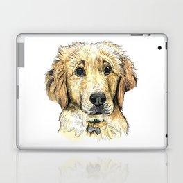 Yellow Lab Puppy Drawing Laptop & iPad Skin