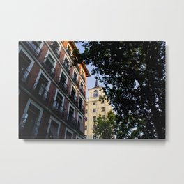 madrid Metal Print