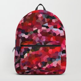 Mermaid Ruby Red Fish Tail Scales Backpack