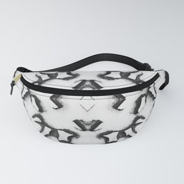 Ironwork Snowflake Fanny Pack