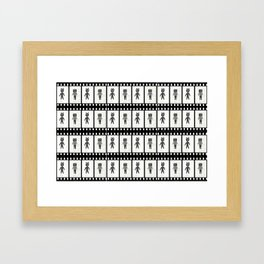 Filmic Framed Art Print