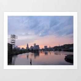 Providence, RI Art Print