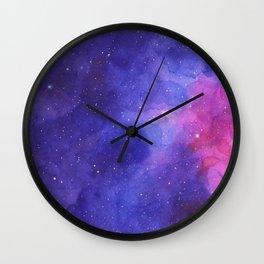 Intergalactic Space Wall Clock