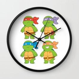 Turts and Emotes Wall Clock