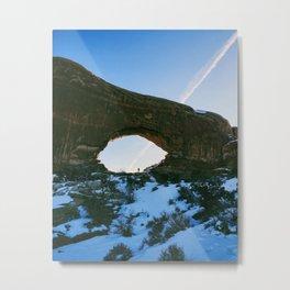Uncharted Metal Print