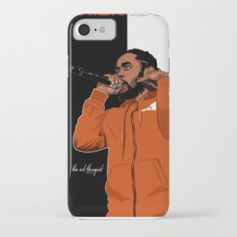 "Kendrick Lamar "" Cornrow Kenny"" iPhone Case"