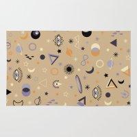 universe Area & Throw Rugs featuring Universe by Marta Olga Klara