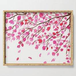 Rain of Cherry Blossom Serving Tray