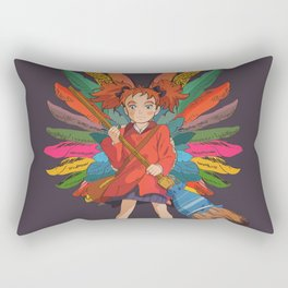 Mary and the Witch's Flower 2 Rectangular Pillow