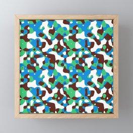 HOT CAMOUFLAGE Framed Mini Art Print