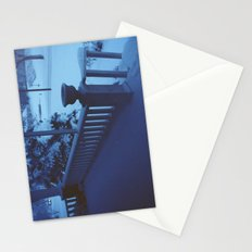 porch snow. Stationery Cards