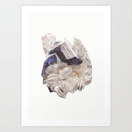 Crystalize IIII Art Print