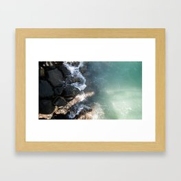 Kuwait's Shoreline II Framed Art Print