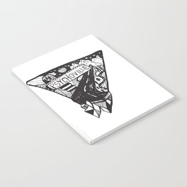 Psychoville black ink drawing Notebook