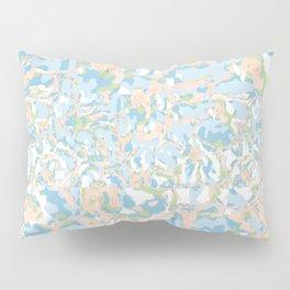 Light Blue Abstract Pillow Sham