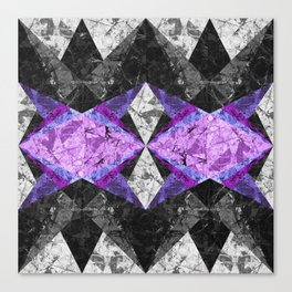 Marble Geometric Background G433 Canvas Print