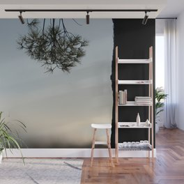 Pine tree trunk and branch Wall Mural