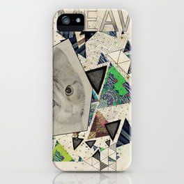 ░ MEAW ░ iPhone Case