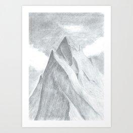 Highest Peak Art Print